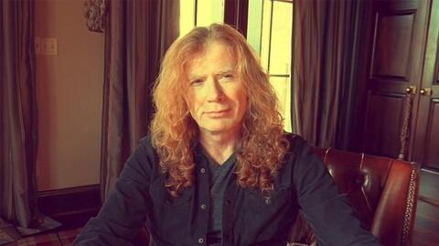 MEGADETH - Dave Mustaine diagnostiqué d'un cancer de la gorge