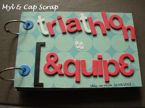Capucine : Triathlon en Equipe
