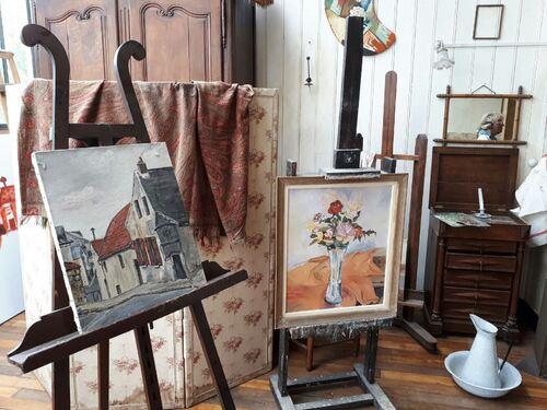 Atelier de suzanne valadon