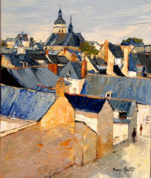 Peinture de : Thierry Martin