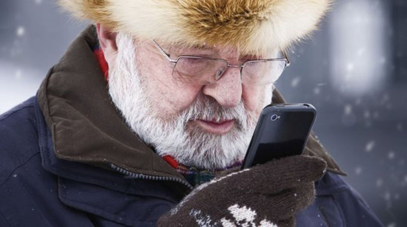smartphone batterie froid