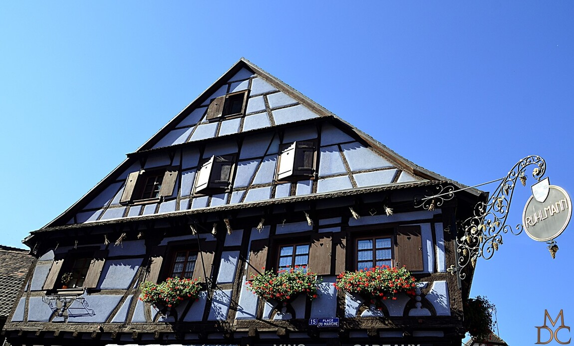 Colombage, Dambach-la-ville, Bas-Rhin