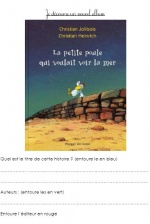 Littérature ASH : La petite poule qui voulait voir la mer / CLIS