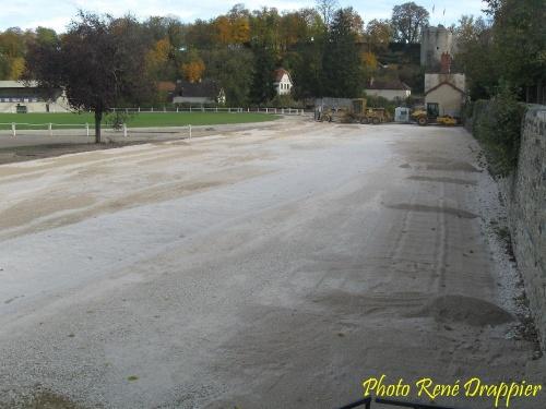L'ancien tennis du parc des sports a disparu...