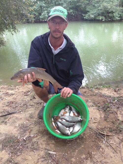 Succès du marathon de pêche au coup organisé par la Fraternelle