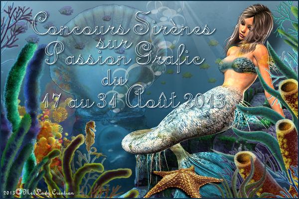 Concours Sirène sur Passion Grafic
