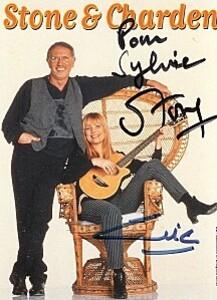 dédicace pour Sylvie par Stone et Eric charden