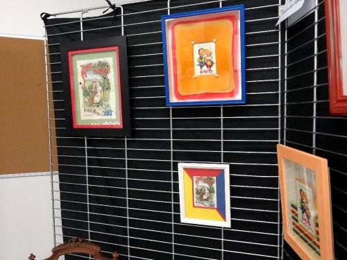 """Exposition 2012 de l'atelier """"encadrement"""" de la MJC Lucie Aubrac de Châtillon sur Seine"""