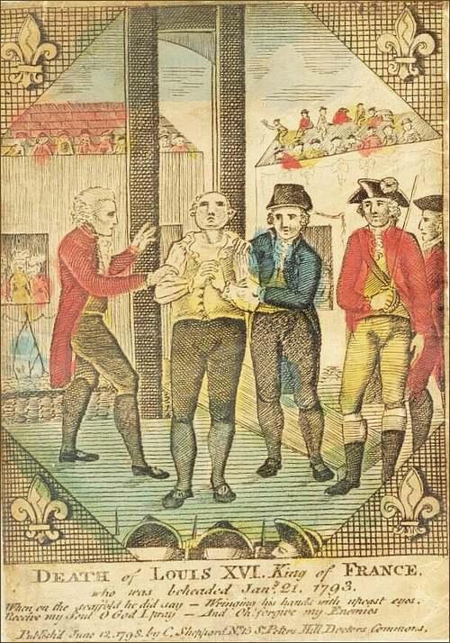 21 Janvier 1793 : Exécution de Louis XVI