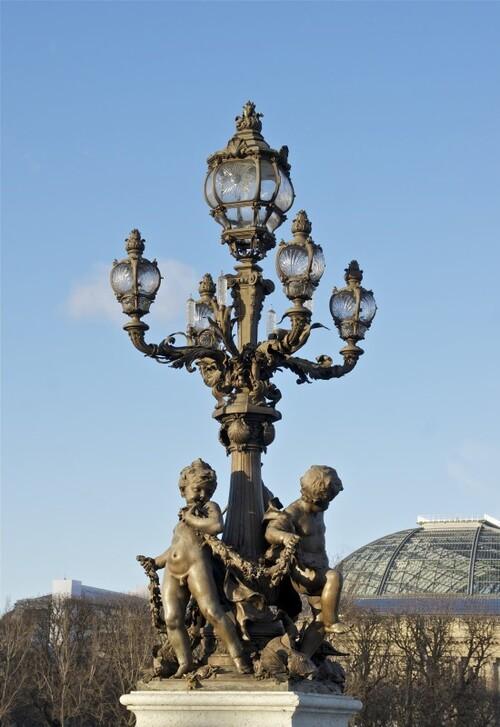 Les plus beaux réverbères de Paris