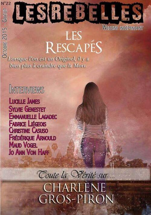 Notre numéro d'Octobre Les Rebelles-Webzine est en ligne et gratuit :)