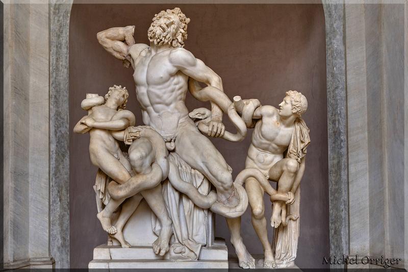 Rome, musé du Vatican, Laocoon et ses fils