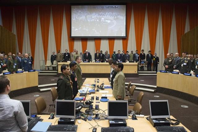 Des hauts responsables militaires de plus de 100 pays discutent à New York des dangers qu'affronte le monde