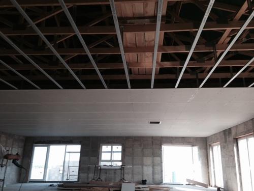 Le plafond en fermacell
