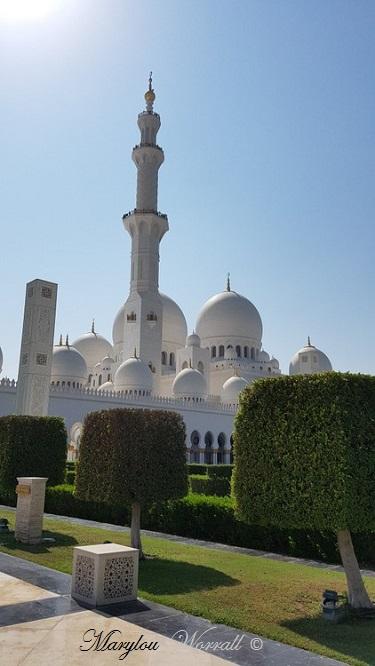 Abu Dhabi : Mosquée du Sheikh Zayed 7/7