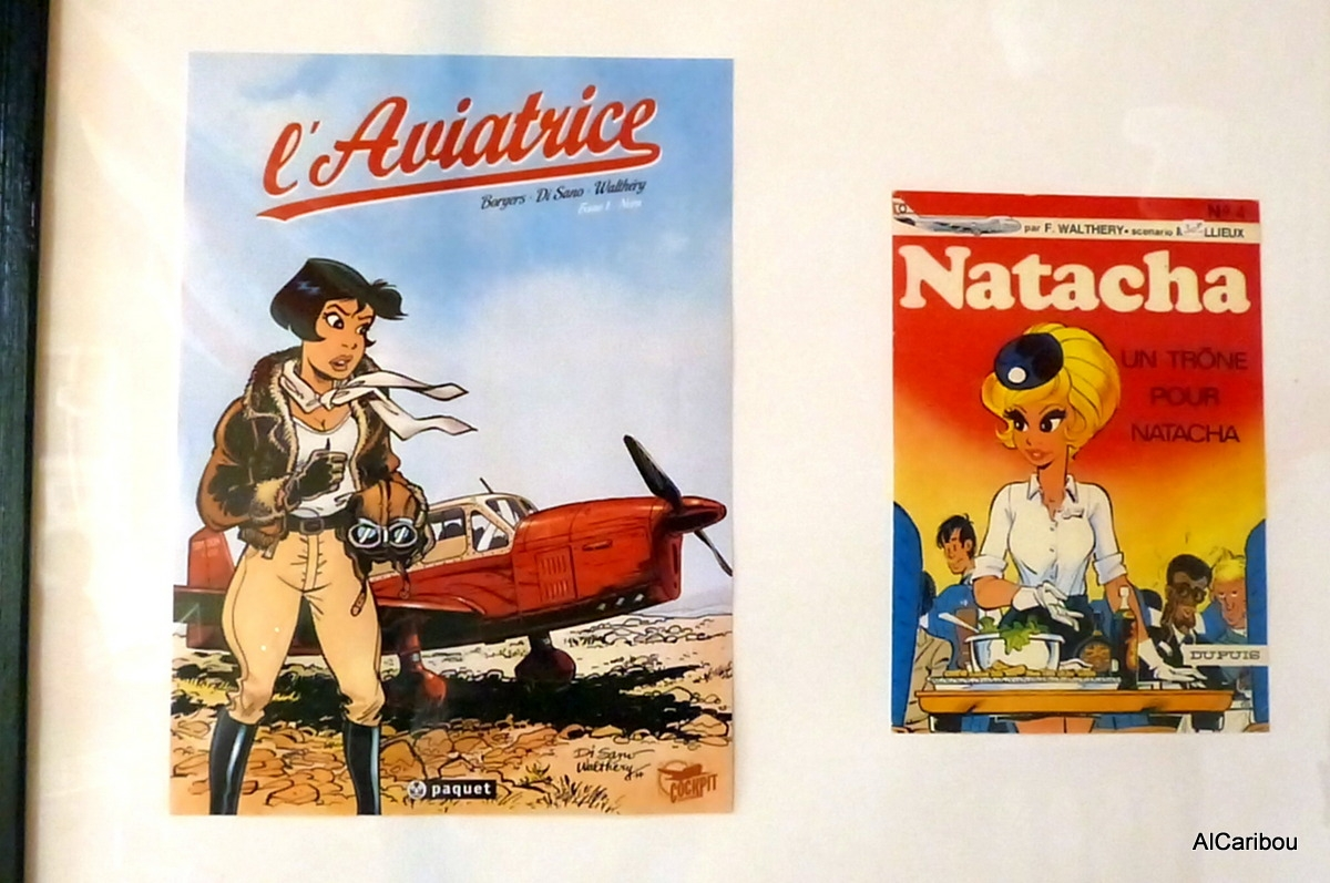 L'aviatrice + Natacha