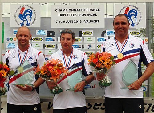 Les Champions de France J.P 3X3