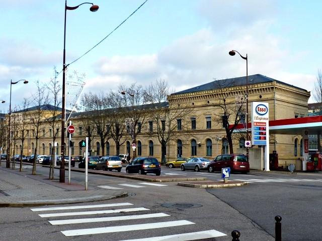 L'ancienne gare de Metz 1 02 01 2010