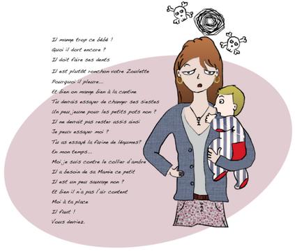"""Les """"Tu devrais..."""" et autres conseils dont une jeune maman se passerait bien..."""