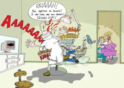 Même pas mal chez le dentiste...
