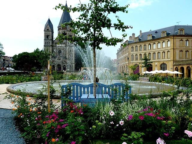 Metz un jardin en chantier 10 Marc de Metz 31 07 2012