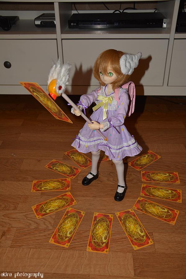 Sakura invoque l'amour dans le monde