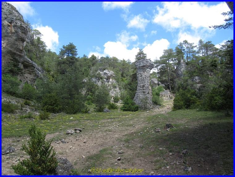 Lozere, les Arcs de Saint-Pierre