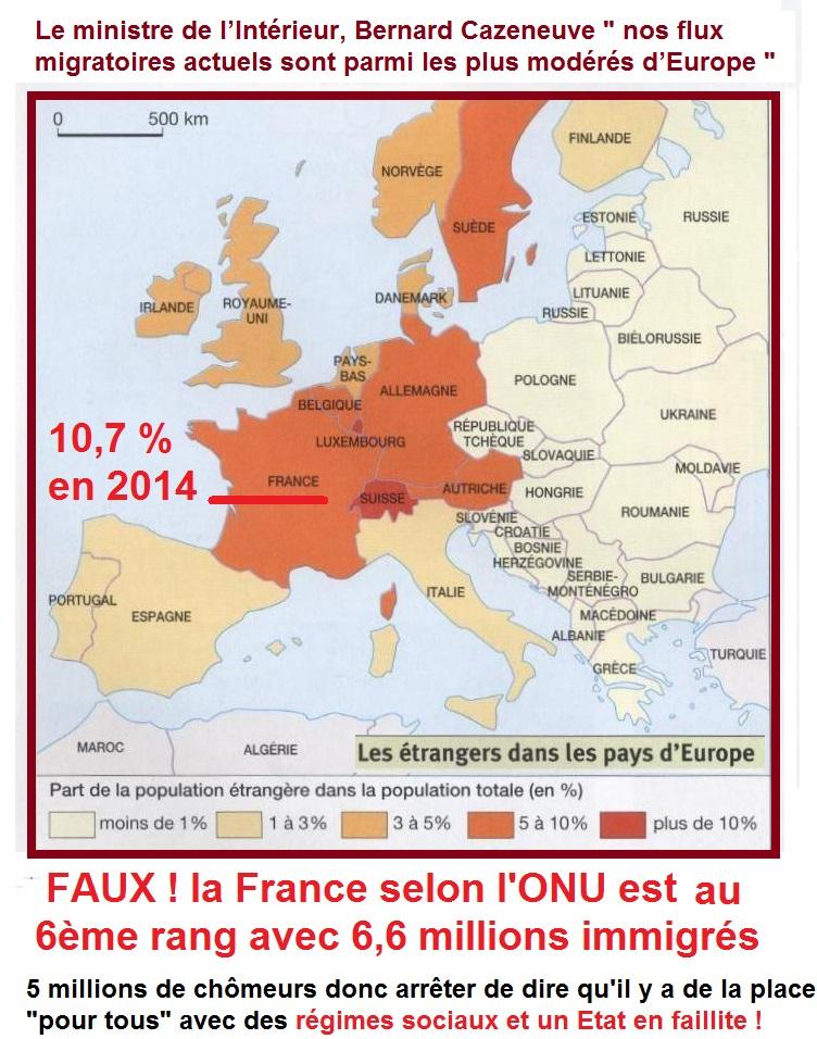 etrangers en europe 2012