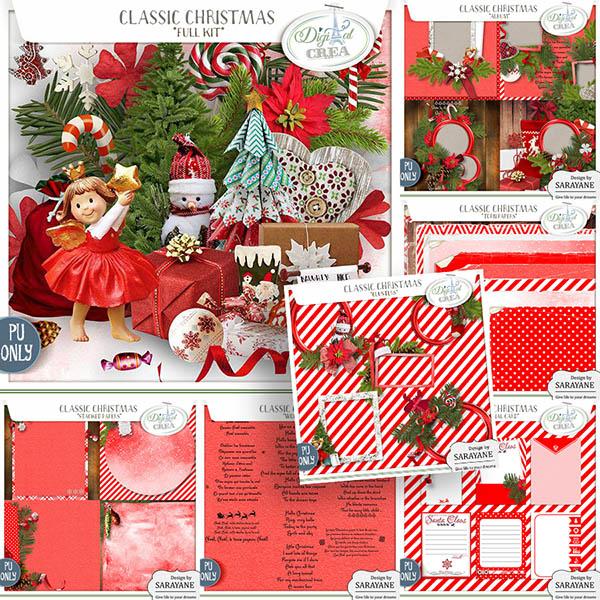 Classic Christmas (Bundle PU) by Sarayane