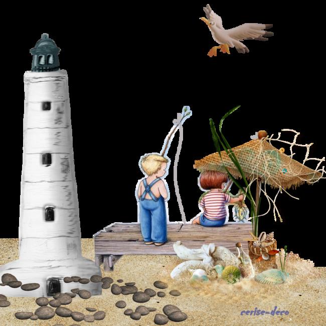 cadeau : deuxème cluster sur vacances  la mer pour vos crations