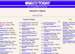 "Esther Galil ""protest vidéo"""