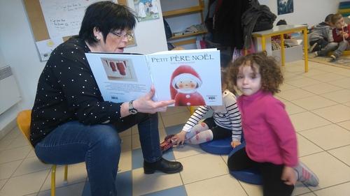 Visite à la bibliothèque : Mois de décembre