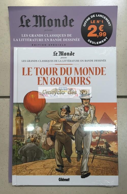 N° 1 Les grands classiques de la littérature en bande dessinée - Lancement