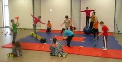 Cirque en milieu scolaire