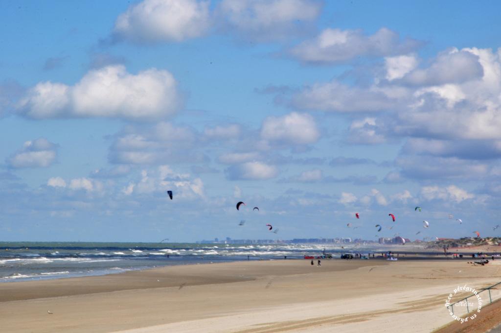 Cette belle plage de sable fin de Dunkerque !