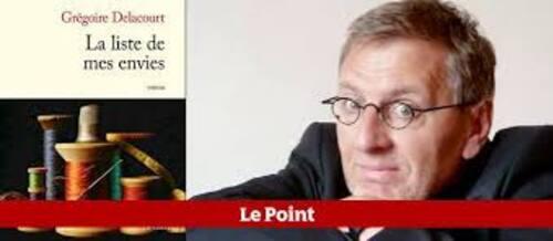 La liste de mes envies - Grégoire Delacourt -