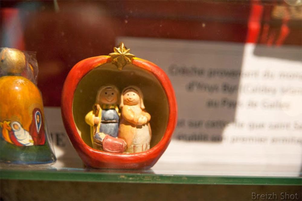 Crèche de Noël miniature : Pays de Galles