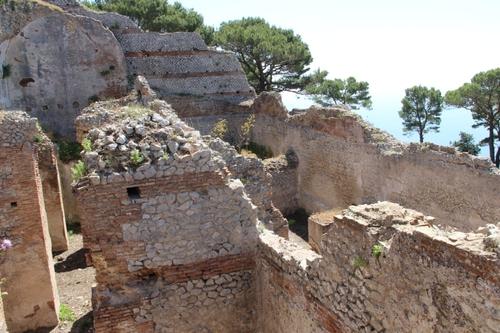 Capri : la villa Jovis