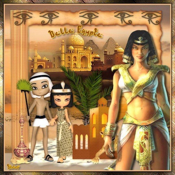 * Egypte  * Atelier de Cerise *