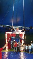Notre semaine cirque a commencé