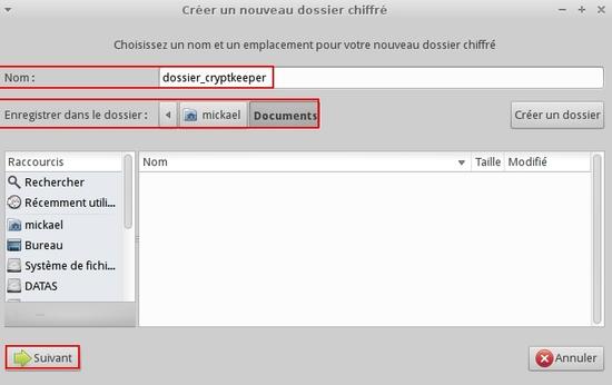 Créer des dossiers chiffrés avec Cryptkeeper et EncFS