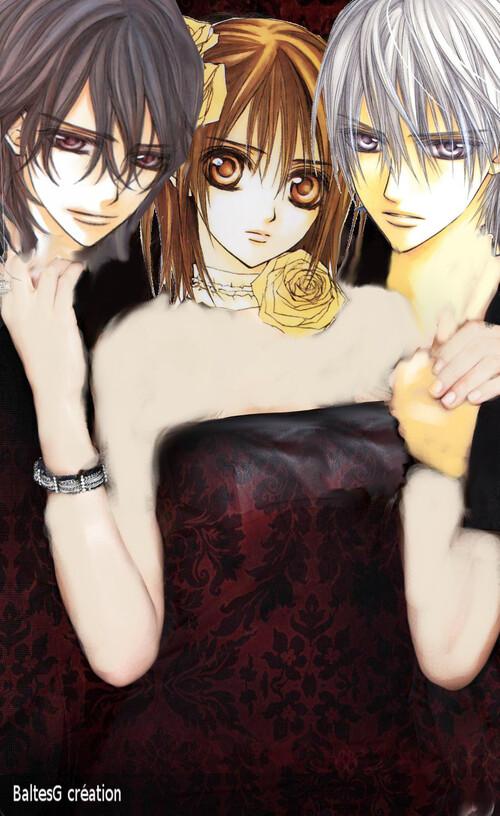 Kaname , Yuki et Zéro