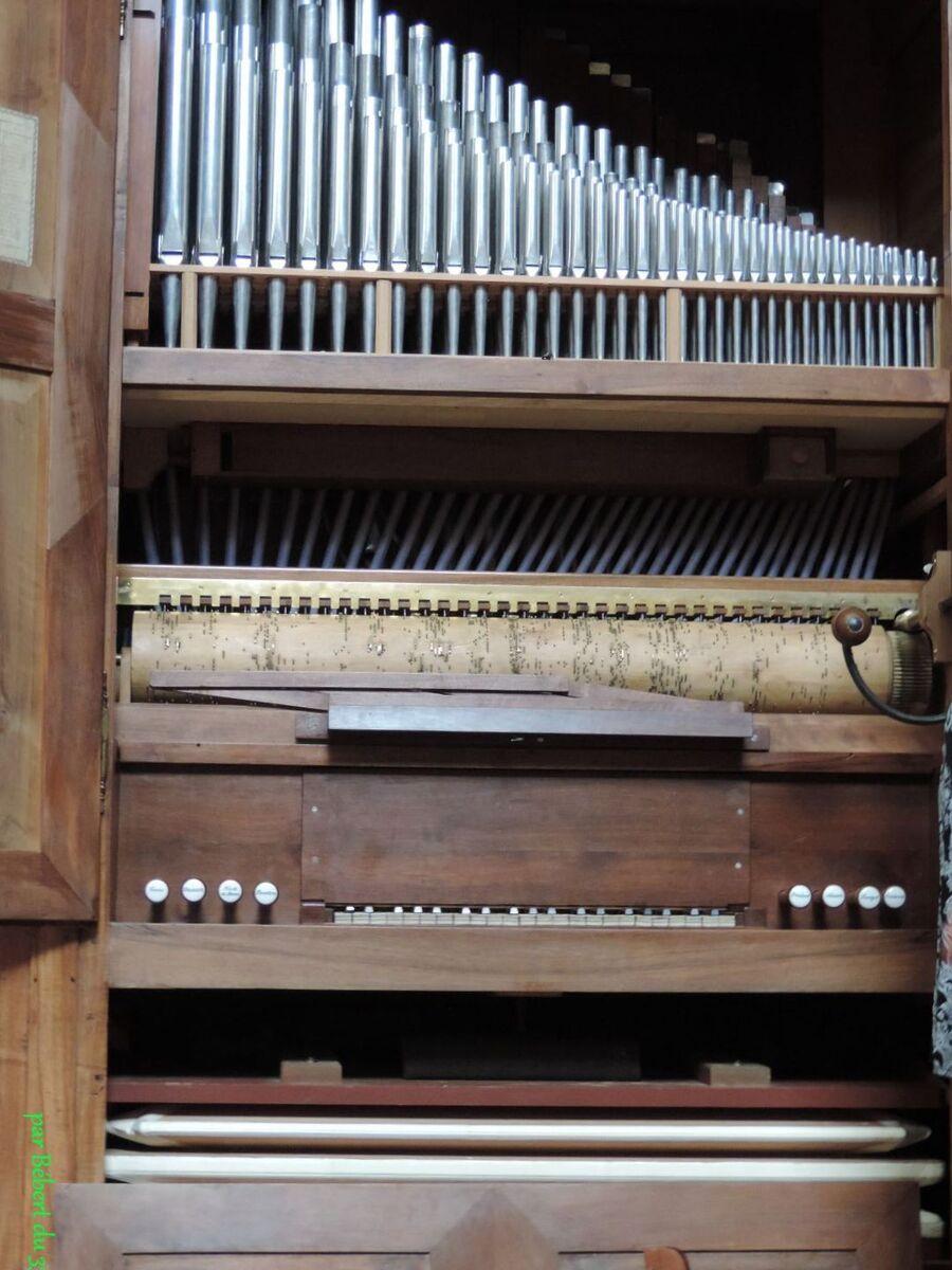 l'orgue d'Airvault - (79)