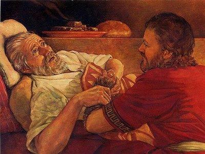 Esaü vend son droit d'aînesse