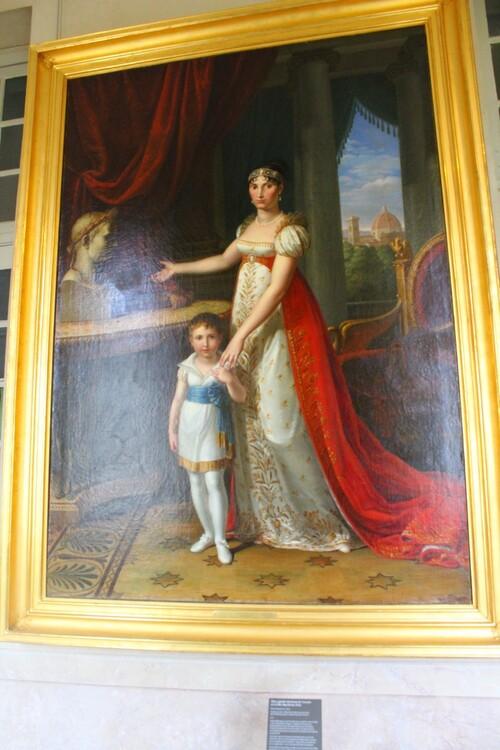 Tableaux au musée de Fontainebleau
