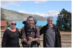 400 kms de ripio autour du lac
