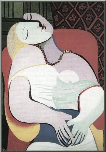 Journée de la femme . Le rêve  Picasso