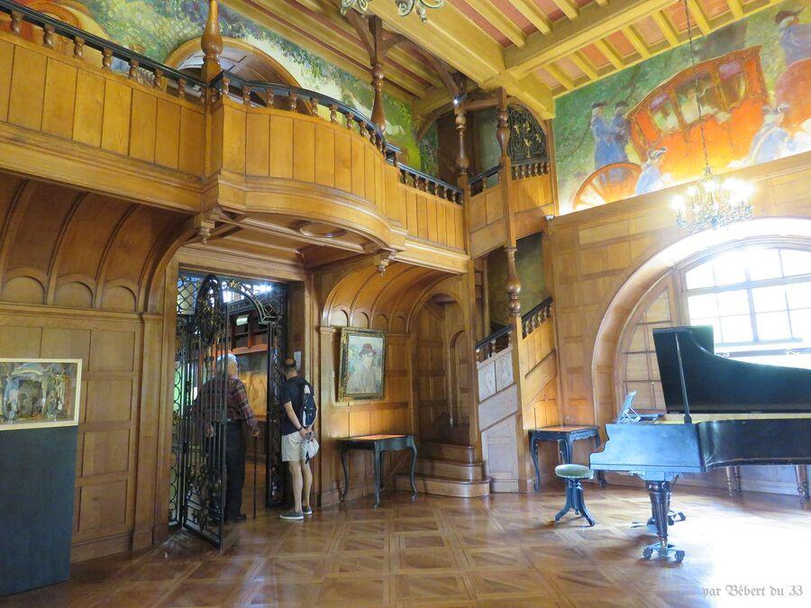 la villa Arnaga à Cambo - 3