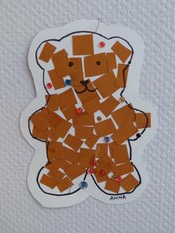 Décorer l'ourson