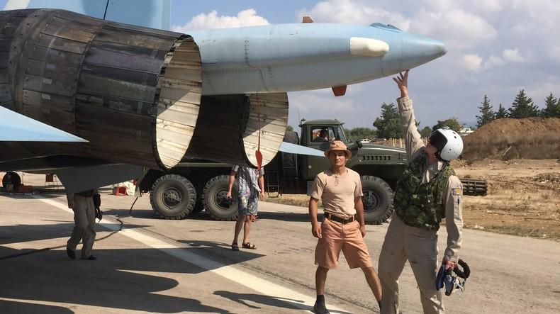 Des pilotes russes en Syrie